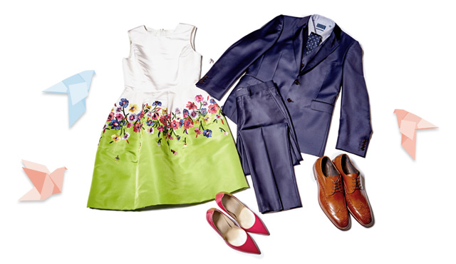 Spring wedding guest wear