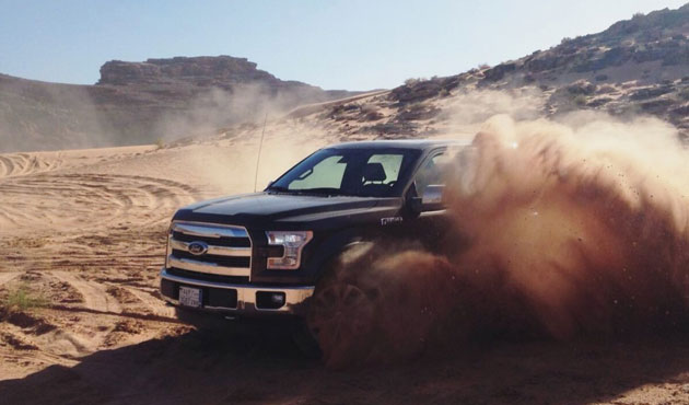 4x4 ride in Jordan