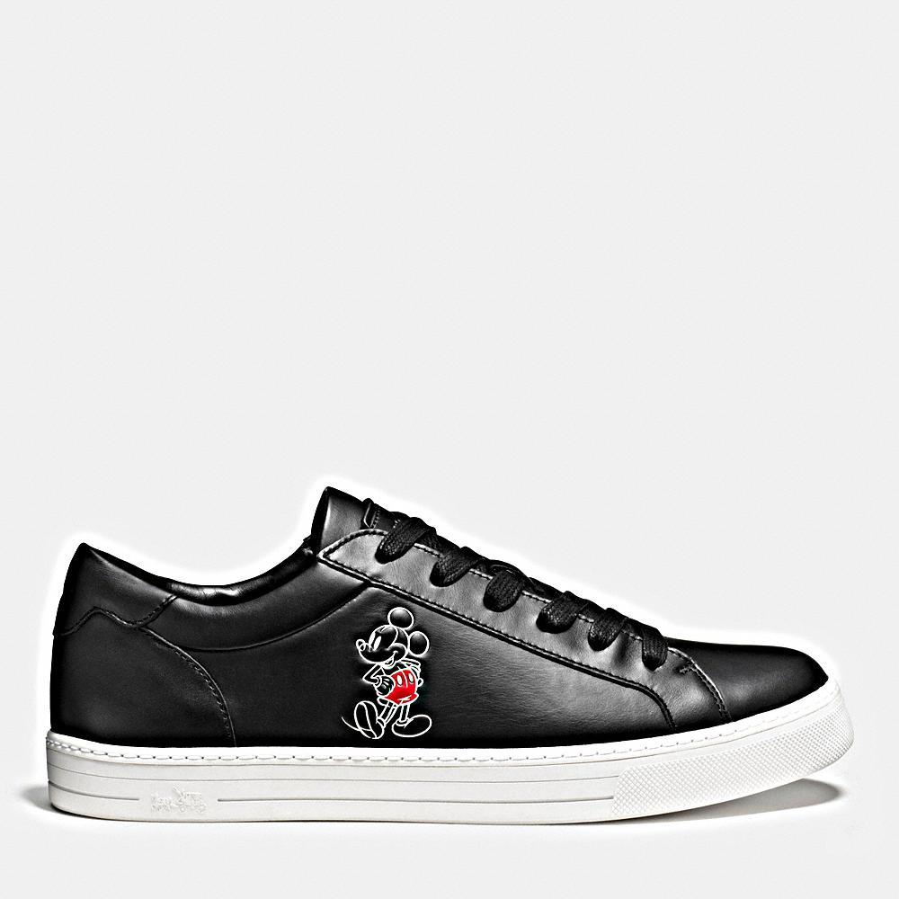 Disney X Coach leather trainers