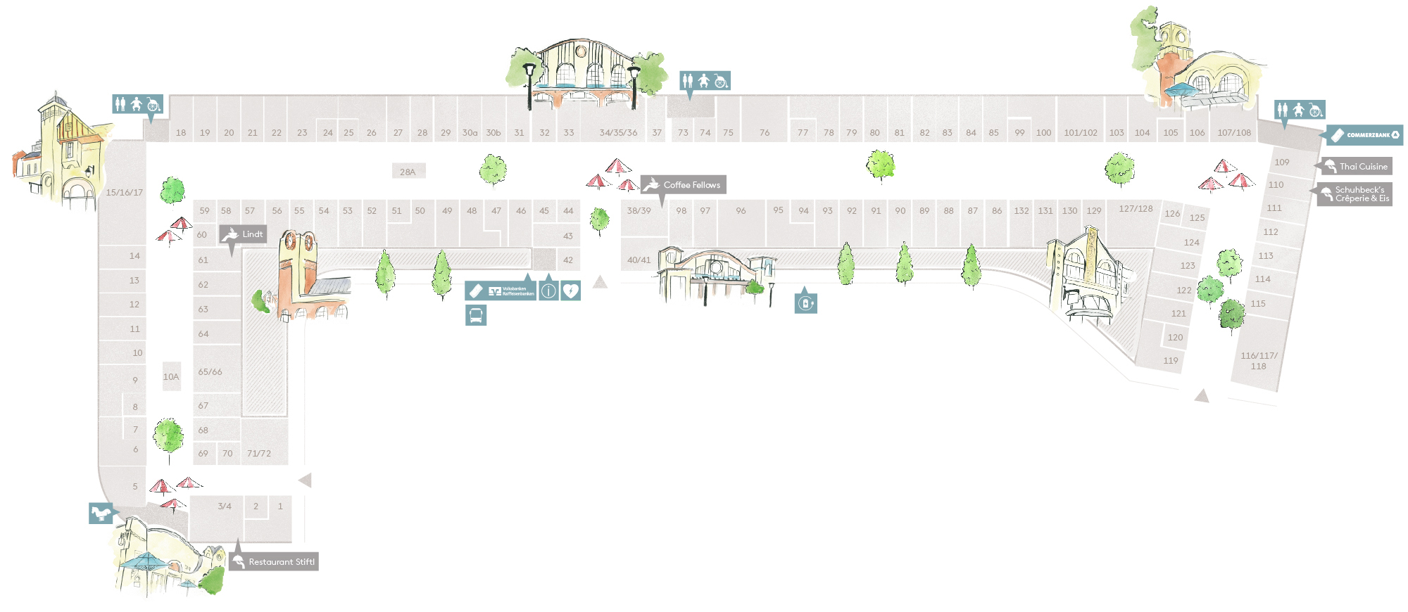 Village-Plan von Ingolstadt Village - Finden Sie Ihre Lieblingsmarken!