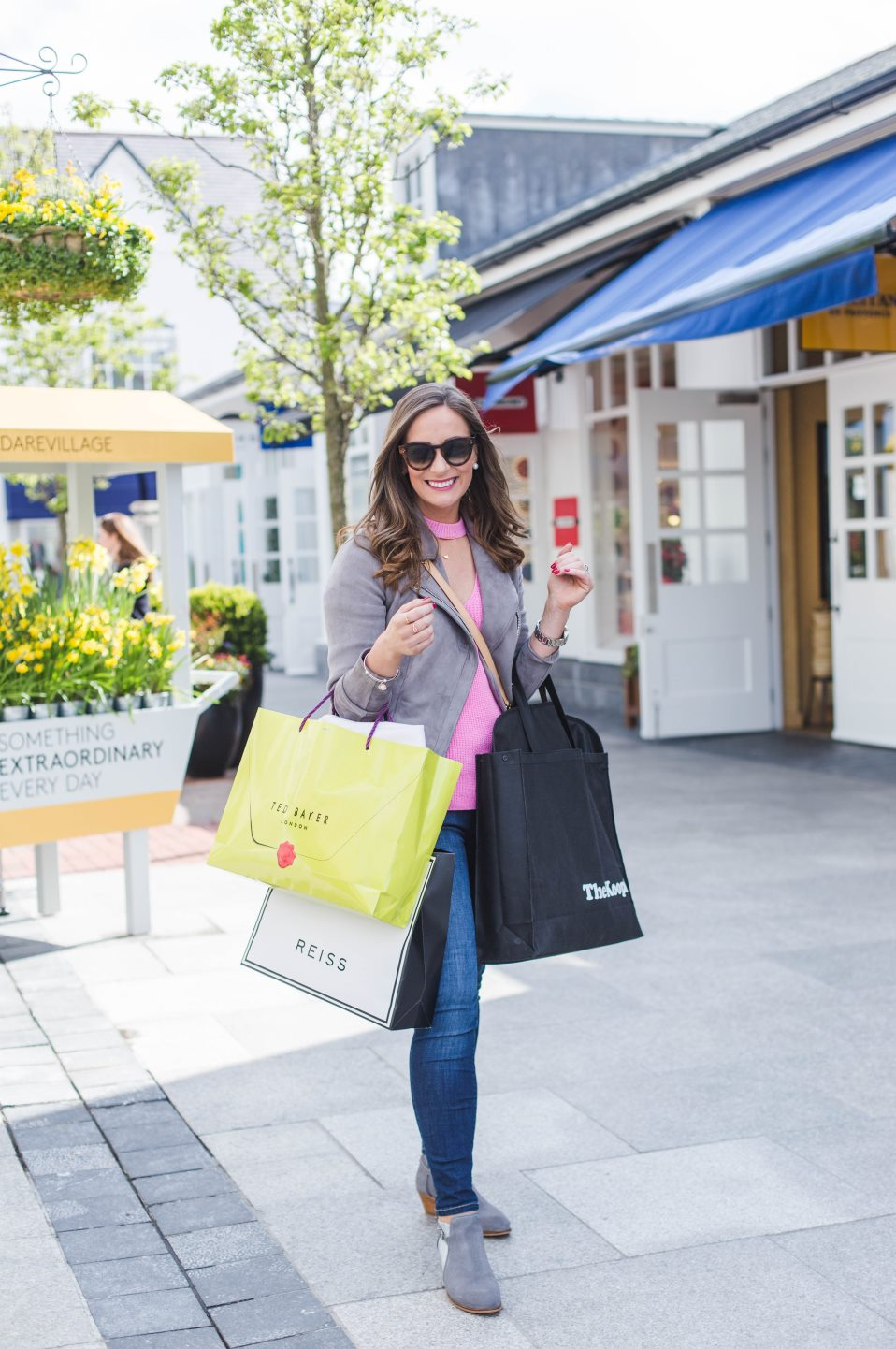 The Style Fairy enjoying shopping at Kildare Village