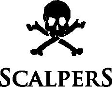 Scalpers logo at La Roca Village