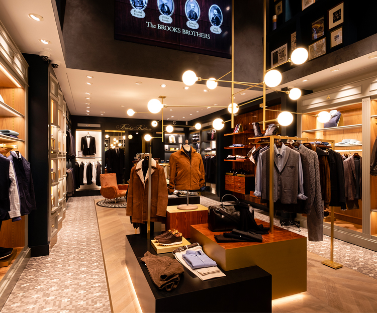 Where can you find a brooks brothers outlet?