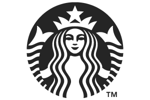 Starbucks Logo Black And White Transparent