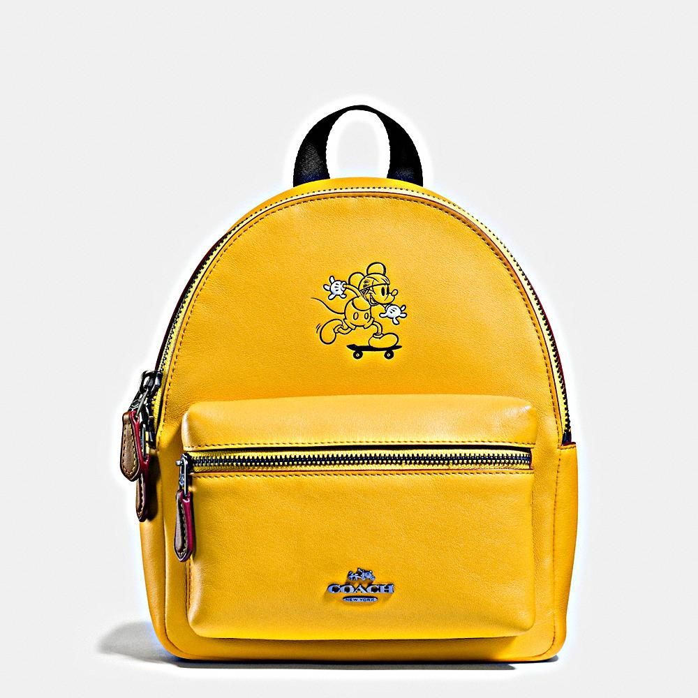 fb94c7d2926 Playfully printed with Mickey skating along the front, it s spacious and  perfectly sized to hold everyday essentials.