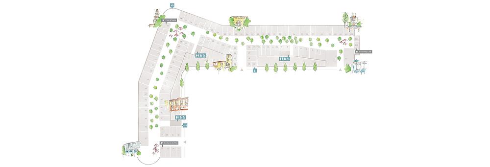 Village Map  Las Rozas Village Designer Outlet Shopping  Las